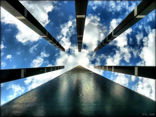 california blue sky white monument clouds explore soe hdr topaz oxnard polarizingfilter abigfave dmcfz8 theunforgettablepictures colourartaward goldstaraward multimegashot novavitanewlife channelislandsbusinesspark