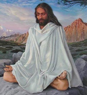 Jesus Meditating | by Tulasi108