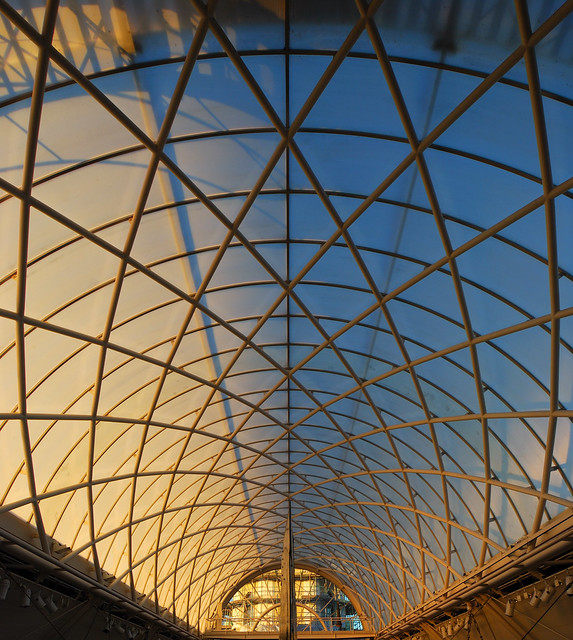 Imperial War Museum - Roof - Looking Up