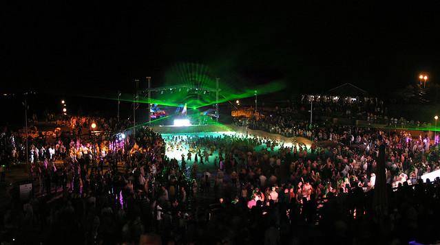 NiteRise Beachball Party 2009.06.27 panorama 02