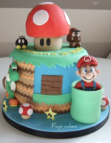 2nd Mario cake | by Fays cakes