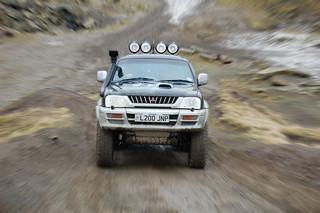 Mitsubishi L200 - Cowm Quarry 2007 | by Travelling Man Photos