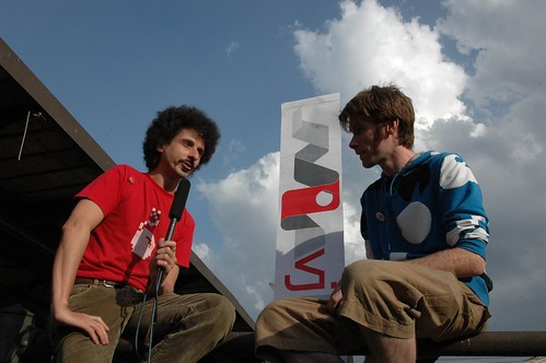 LPM08 - Toby (*spark) Interviewing Jaromil | by synesthete