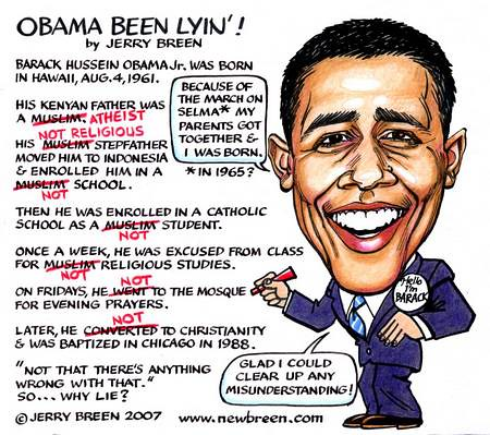 xcaricature-obama-lyin | by Lyons, Tigers, and Bears...Oh My!