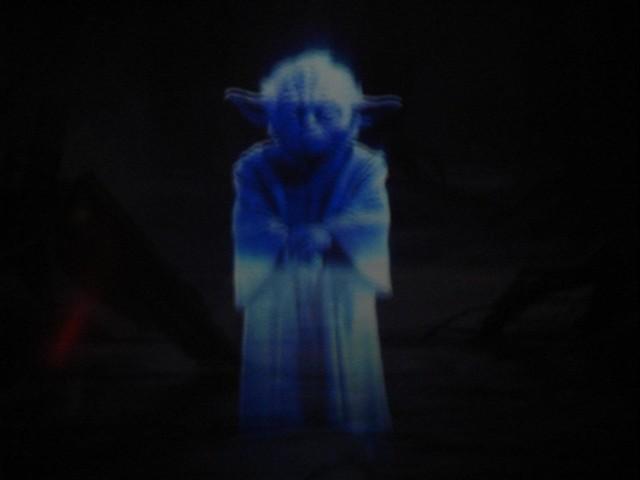 Expo Star Wars 2008 - Porão das Artes - Yoda's hollography