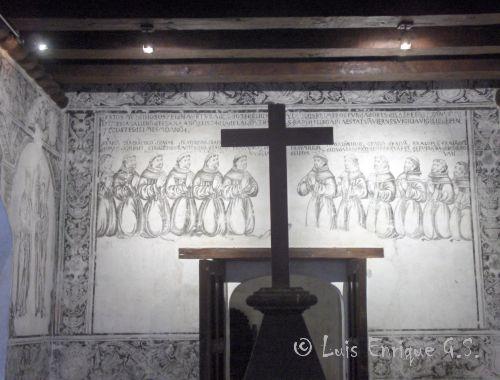 Sala de Profundis Exconvento Sn Francisco de Huejotzingo