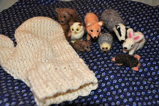 All the animals and the mitten | by littlesisterhandmade