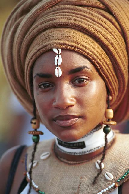 Beautiful Ethiopian Girl Ethnic Fashion Caribbean Festival Penns Landing Philadelphia Aug 16 1998 002