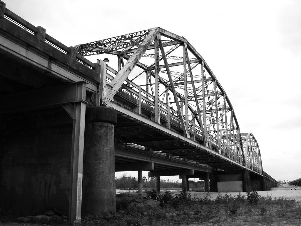 Old US 59 Bridge at San Jacinto River 0225091441