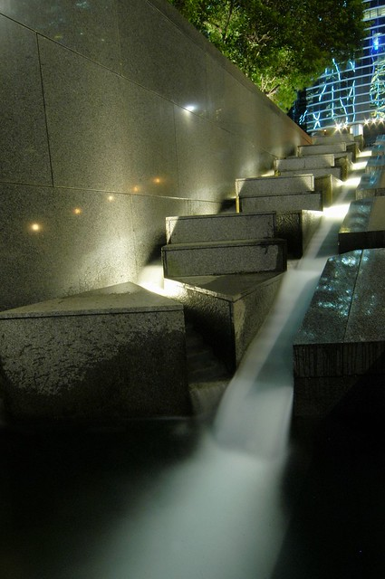 Hong Kong - Waterfall@BoC