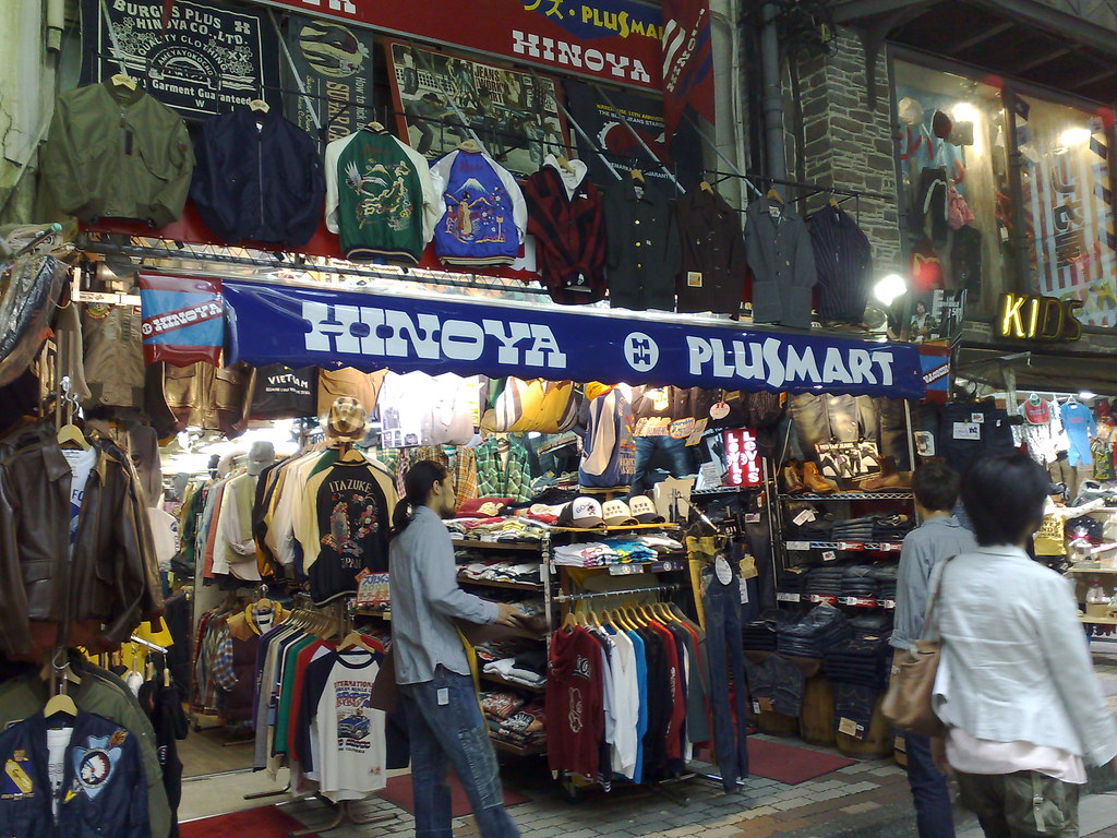what to buy in japan - denim from Hinoya Plus Mart