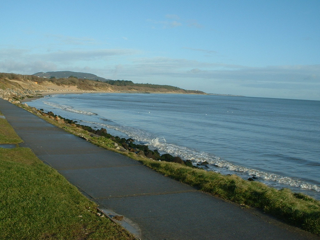 Swim at Courtown Harbour