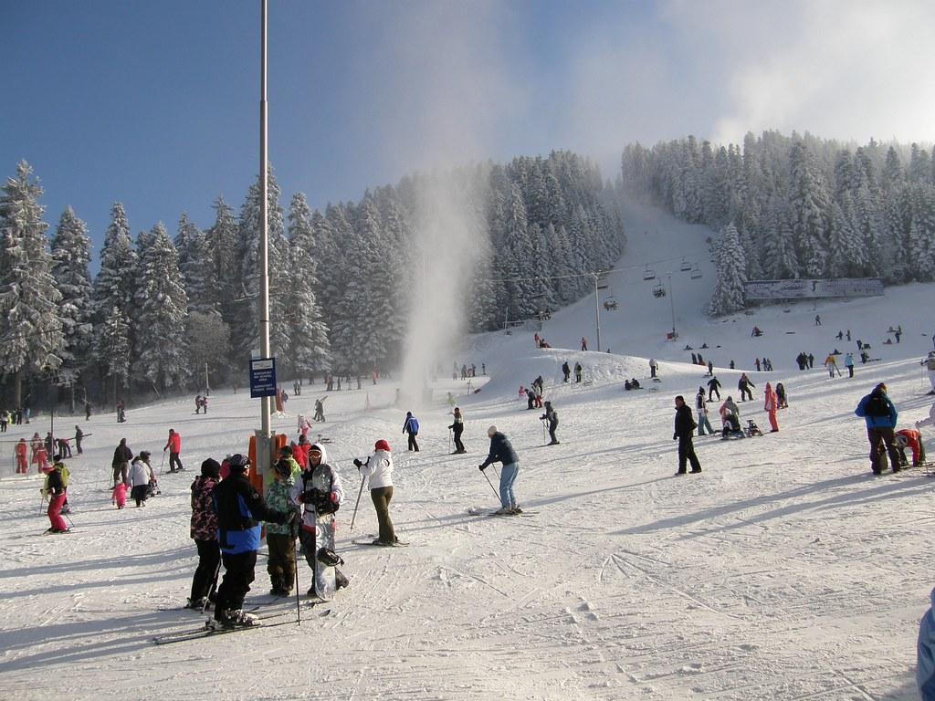 winter in Borovets