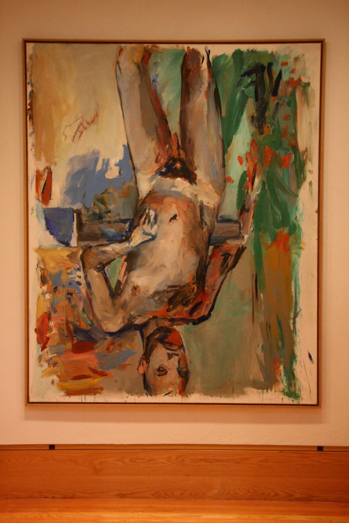 Georg Baselitz. Male nude