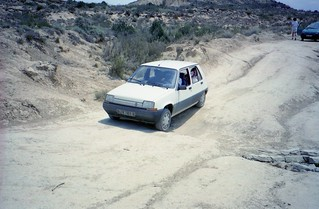 1987 Renault Super 5 - Bardenas, Spain 95