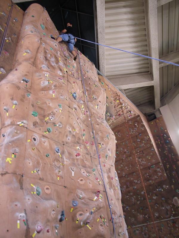 北投運動中心:攀岩