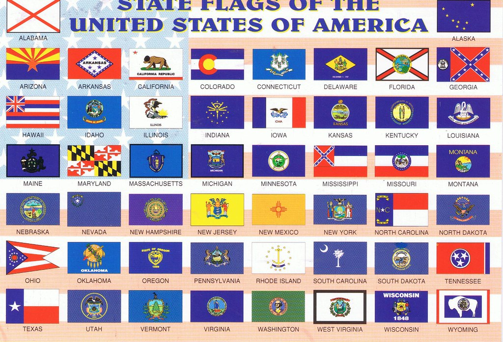 50 State Flags | State Flags of the 50 United States ... on