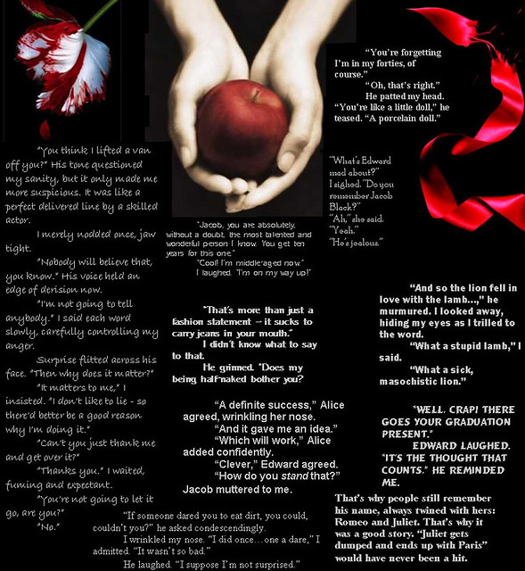 Many Quotes Of Twilight These Are Many Quotes From All Thr