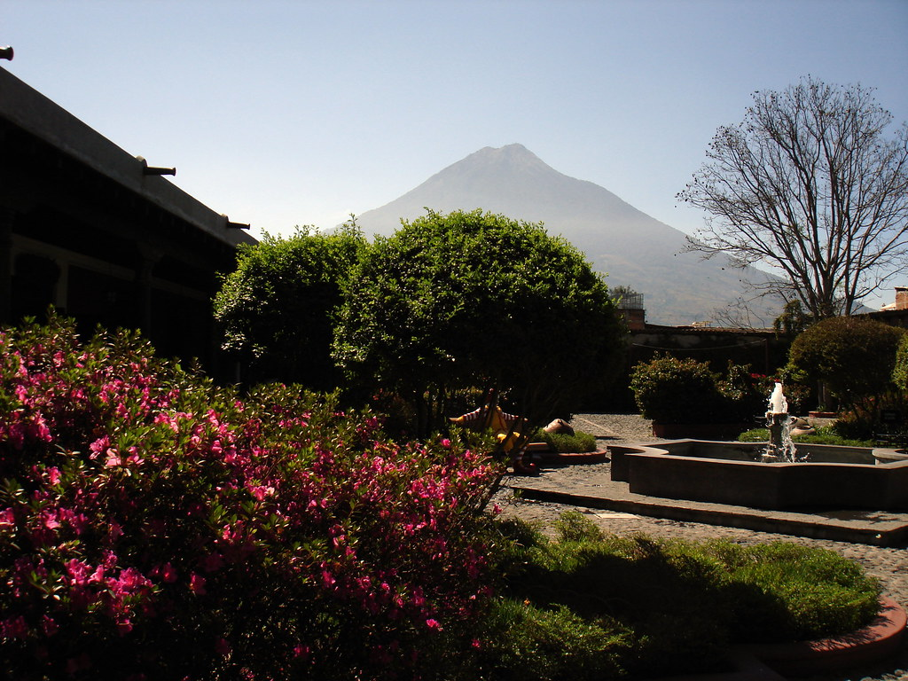 Antigua Guatemala. Innenhof.