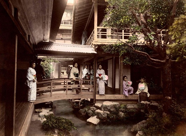 お茶屋 The Inner Sanctum Of A Japanese Tea House An Ochaya