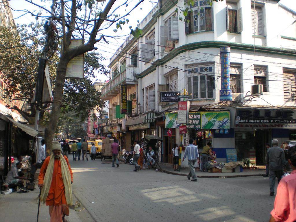 Sudder Street, Calcutta, India