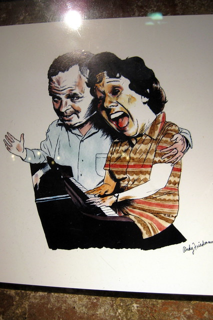 NYC - Chelsea Market: Carroll O'Connor and Jean Stapleton as Archie and Edith Bunker