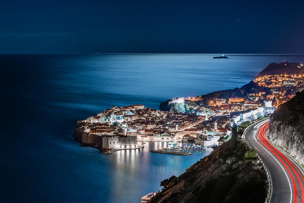 Dubrovnik at night | Dubrovnik @ moon light 07.03.2014. | Ivan ...