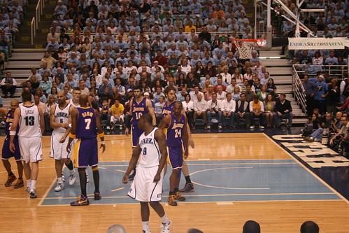 Lakers vs Jazz   by CharleyMarley
