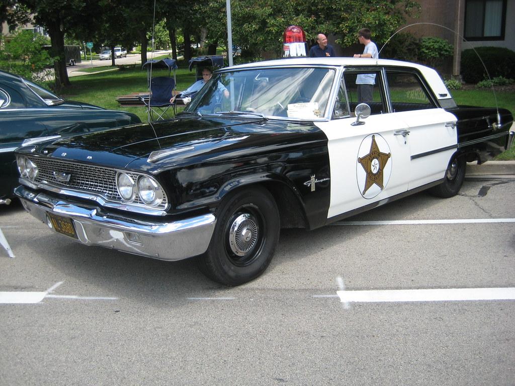 1963 Ford Galaxie Police Car
