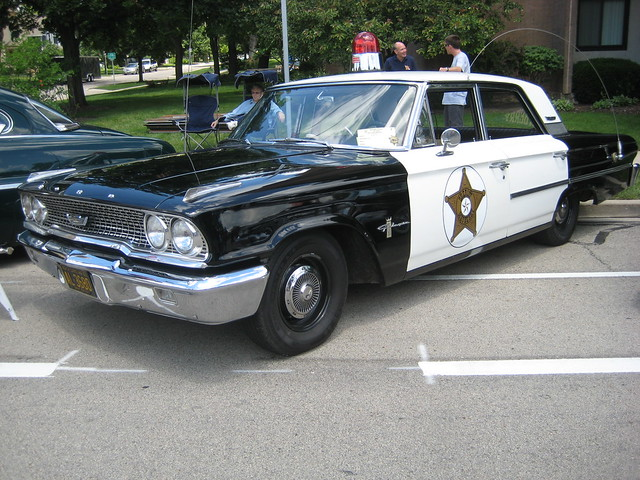 1963 Ford Galaxie Police Car