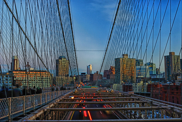 Brooklyn Bridge - Sunset