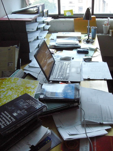thesis desk chaos | by frankh