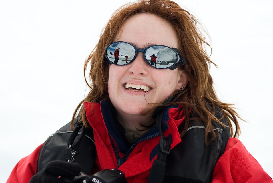 Antarctica In Her Eyes
