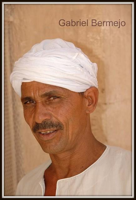 Retrato en Luxor