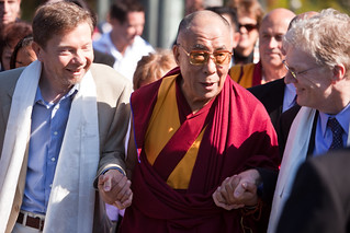The Dalai Lama @ The Vancouver Peace Summit | by Kris Krug