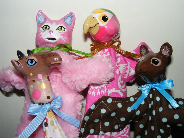 cone puppets 2