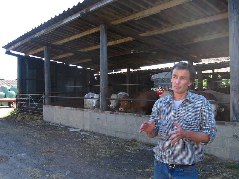 David Latham, farm manager at Castle Farm