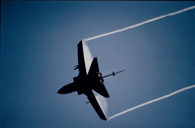 RAF Tornado F3 above Leuchars,  Scotland