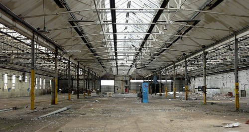 Cathays Depot Derelict