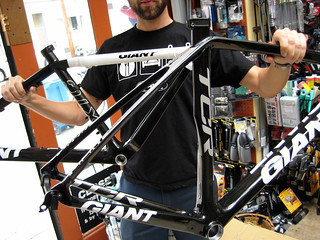 2009 Giant TCR and XTC frames | by rakers