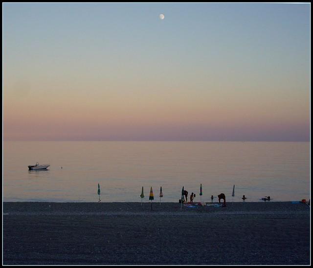 Bovalino Beach fine pomeriggio