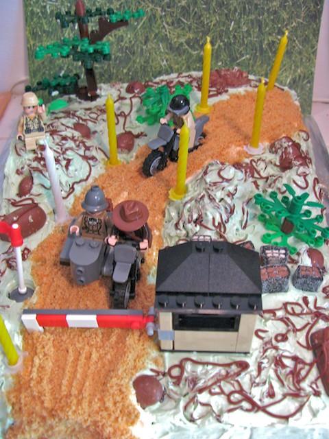 Remarkable Lego Indiana Jones Birthday Cake 4 Birthday Cake My Husban Flickr Funny Birthday Cards Online Inifodamsfinfo