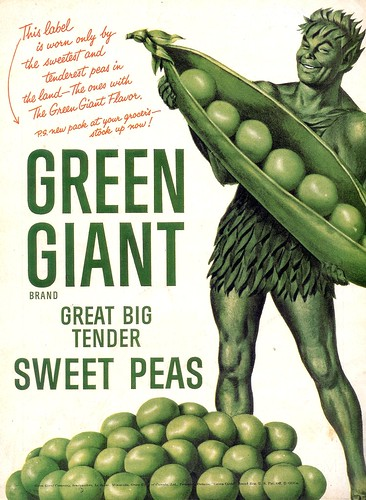 Green Giant Peas- 1955 | by senses working overtime