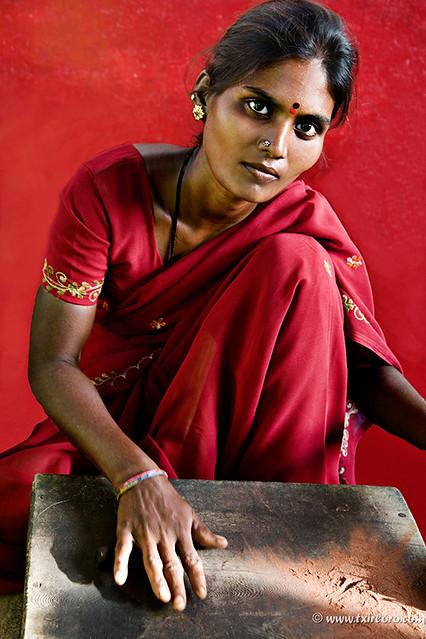 India en rojo