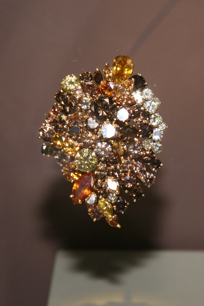 Wilkinson Diamond Brooch | This yellow gold brooch contains \u2026 | Flickr