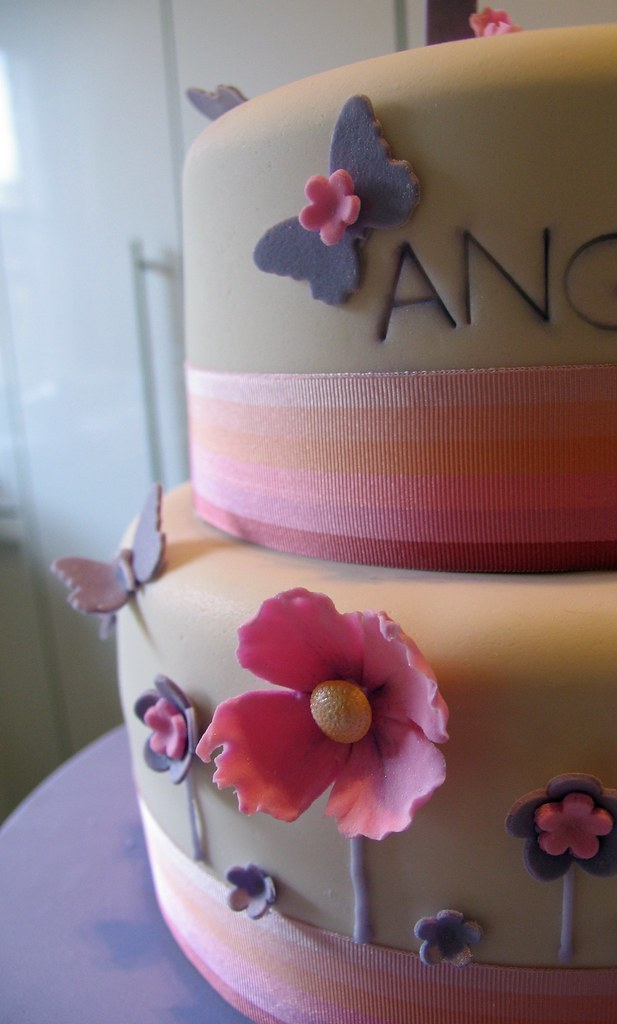 Magnificent 1 Year Old Birthday Cake Not A Great Photo Of Course Flickr Personalised Birthday Cards Cominlily Jamesorg