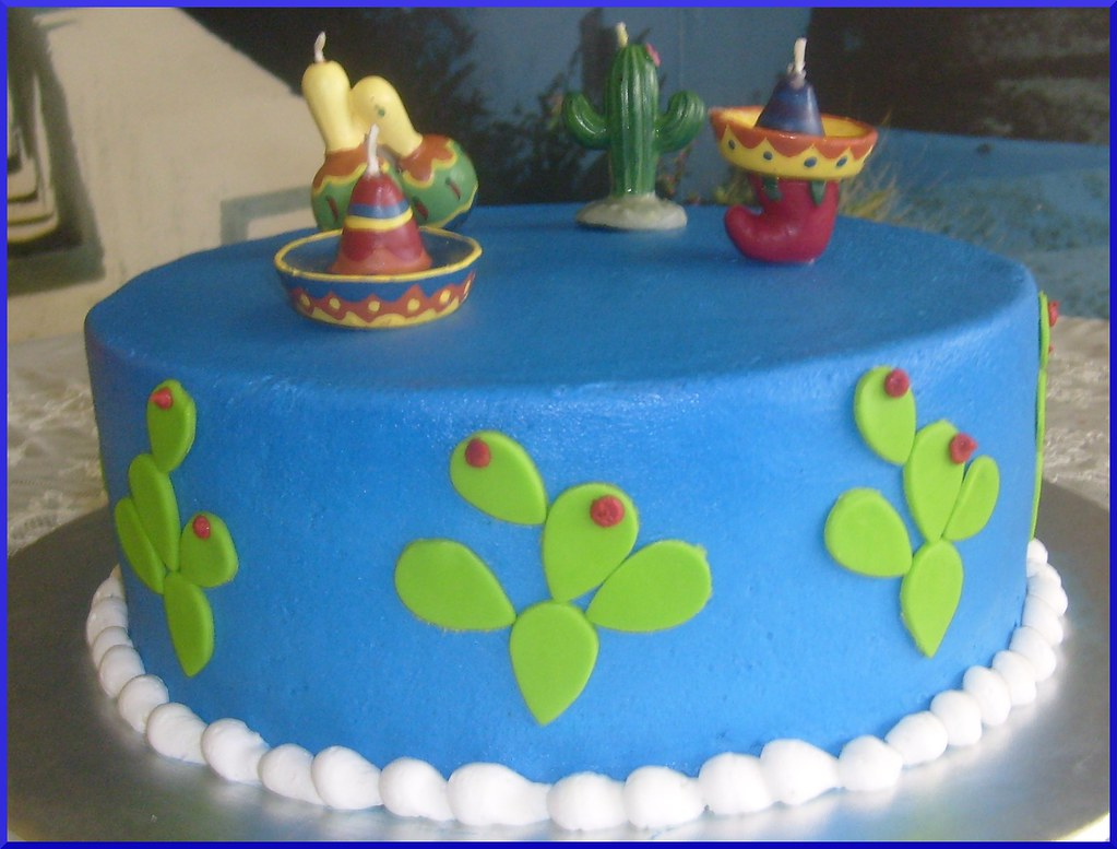 Swell Mexican Birthday Cake Dpasteles Cake Shop Flickr Funny Birthday Cards Online Elaedamsfinfo