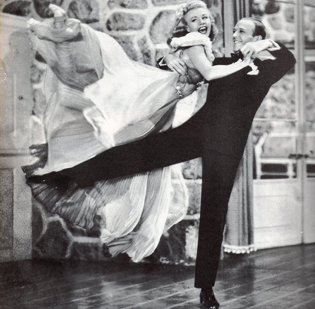 Fred Astaire Ginger Rogers In Carefree 1938 Laura Loveday Flickr