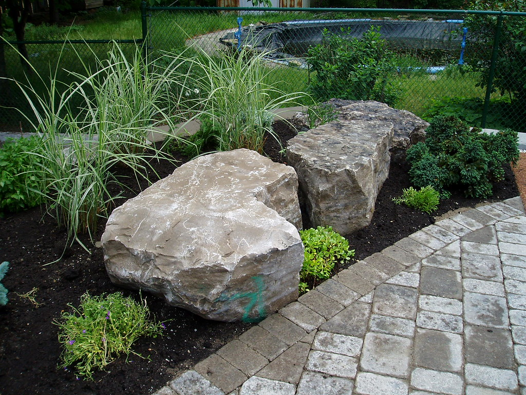 Rock Garden Design Check Out Rainbow Landscaping S Service Flickr