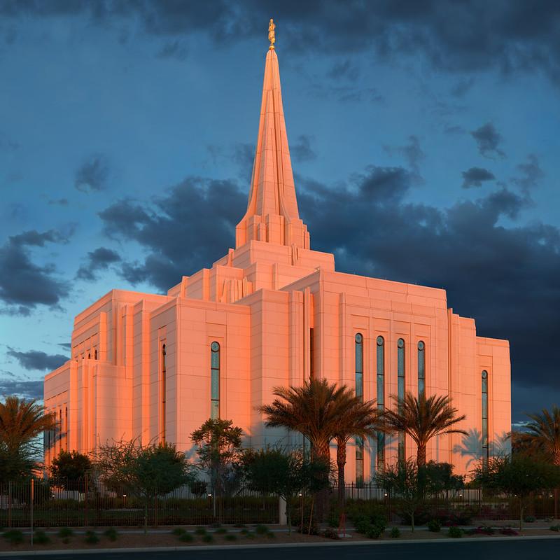 LDS Temple, Gilbert AZ.